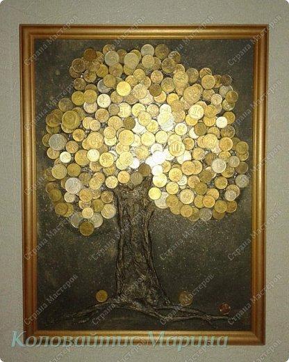 Мое второе денежное дерево. На этот раз, я его сделала для себя! фото 1