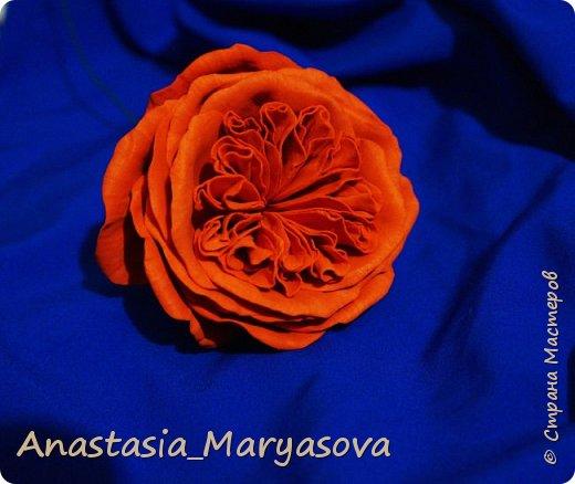 Цветы из фоамирана.  фото 8