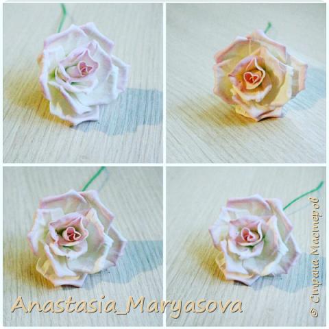 Цветы из фоамирана.  фото 4