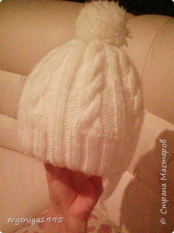 Зимняя шапочка с подкладом фото 1