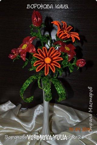 Приветствую всех феечек,создающих красоту.Представляю вам мой осенний букетик и его маленьких вариаций))) фото 2