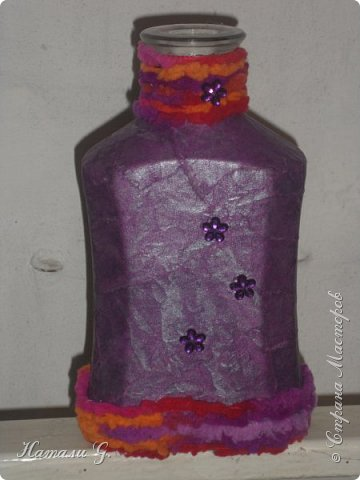 Декор бутылок (разные)-5 (декупаж +) фото 2
