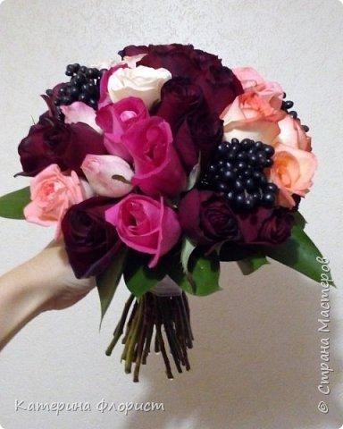 Эустомы и розы фото 4