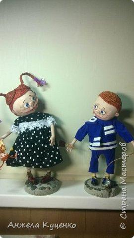 куклы по мативам иллюстраций Виктории Кирдий фото 1