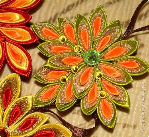 В этом году на День учителя делала вот такие кленовые листья.  фото 5