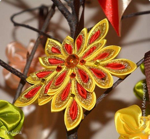 В этом году на День учителя делала вот такие кленовые листья.  фото 1
