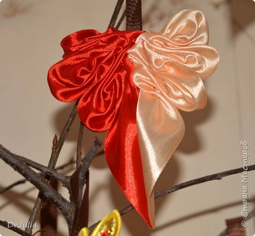 В этом году на День учителя делала вот такие кленовые листья.  фото 10