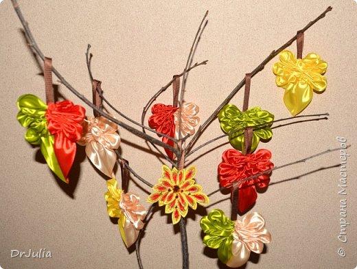 В этом году на День учителя делала вот такие кленовые листья.  фото 11