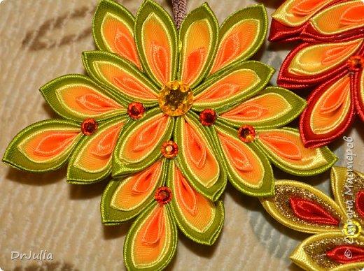 В этом году на День учителя делала вот такие кленовые листья.  фото 3