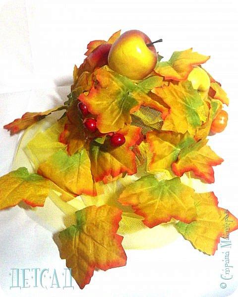 Почему-то Золотая Осень всегда одевает кокошник Решила сломать стереотип и создать шляпку! фото 1