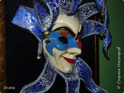 Вот такая маска родилась у нас с мужем после нескольких недель работы.Маску готовили на подарок друзьям. фото 4