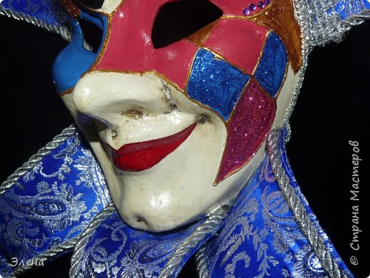 Вот такая маска родилась у нас с мужем после нескольких недель работы.Маску готовили на подарок друзьям. фото 3