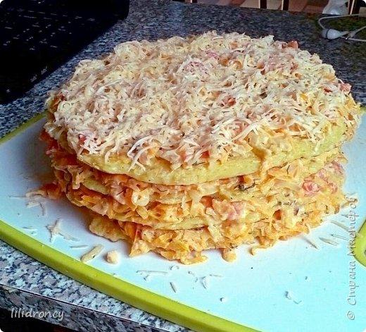 Вкуснейший торт из кабачков.