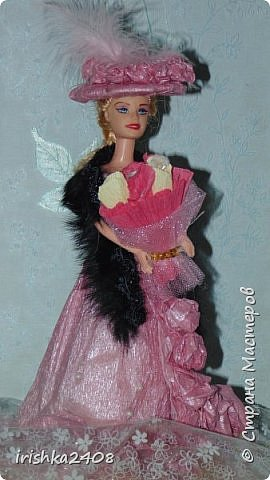 Конфетная кукла фото 8