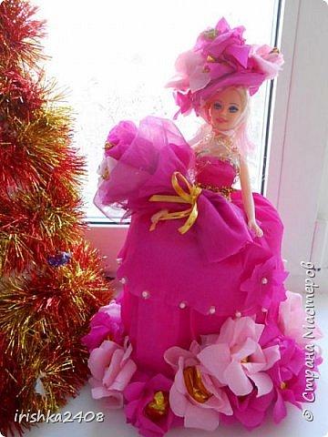 Конфетная кукла фото 2