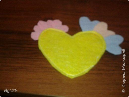 """Доброе время суток. Хочу показать """"Сердечного петушка"""".Пока он не получил свою прописку, так.как я еще не решила то ли елочной игрушкой ему быть и петельку пришить или на зубочистку посадить для украшения стола.  фото 10"""
