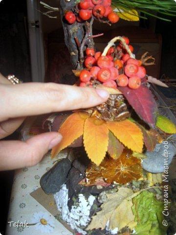 Поделка из природных материалов для детского сада фото 19
