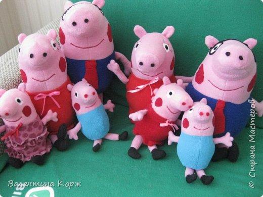 Папа Свин,мама Свинка,свинка Пеппа и братик Джоржик фото 3