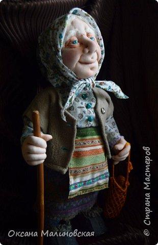 Здравствуйте, жители Страны мастеров. Родилась у меня новая кукла. Назвала её баба Нюра. фото 6