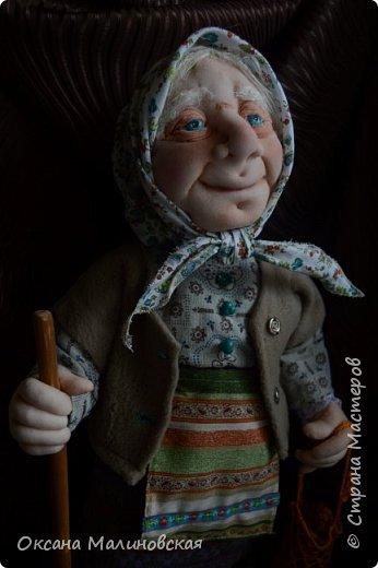 Здравствуйте, жители Страны мастеров. Родилась у меня новая кукла. Назвала её баба Нюра. фото 7