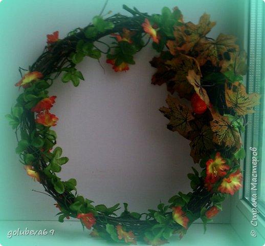 Это солнышко из осенних листочков сделал обучающийся 1 класса. фото 4