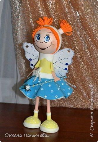 Куклы из фоамирана... фото 2