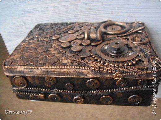 Шкатулка для швейных принадлежностей из......швейных принадлежностей фото 3