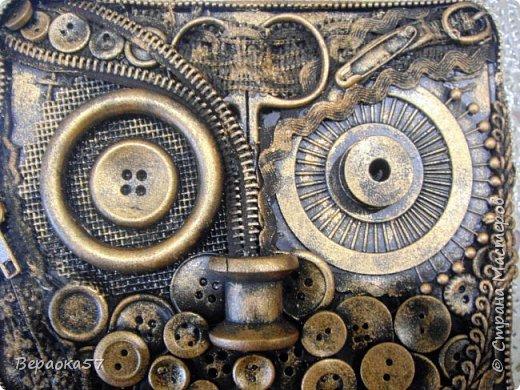 Шкатулка для швейных принадлежностей из......швейных принадлежностей фото 1