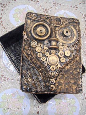 Шкатулка для швейных принадлежностей из......швейных принадлежностей фото 2