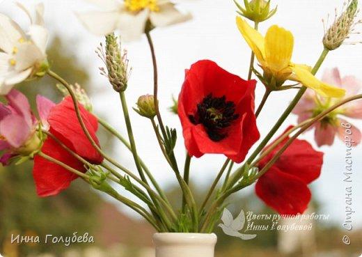 Вот такие букетики слепились на заказ) А впереди еще маргаритки и два букета роз. А потом очень хочу вплотную заняться орхидеями) фото 8