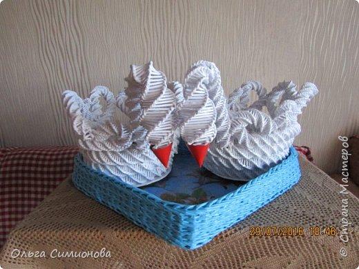 Лебеди, свадебный подарок. фото 1