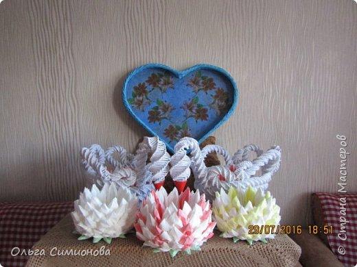 Лебеди, свадебный подарок. фото 2