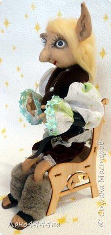 Это мой любимчик! Хотя, вру. Я люблю всех своих кукол!!!!  Этот красавец сшить из хб ткани, тонирован. Образ придумывала сама, долго и мучительно. По-этому ему пришлось своим не одетым видом довольно долго смущать жителей нашей квартиры))))) фото 3