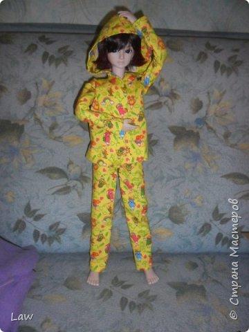 пижамка для моего парнишки Широ. Остались довольны я и он! Ему очень идет)) фото 2