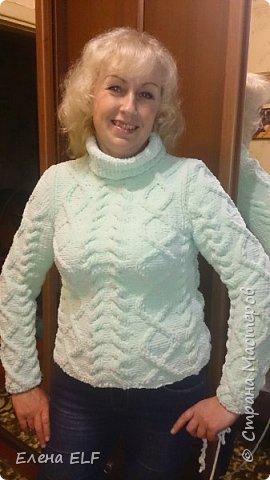 Вот такое пальтишко связала моя мама для моей дочки. Шапочку вязала знакомая девочка. пальто внутри на флисовом подкладе. фото 8