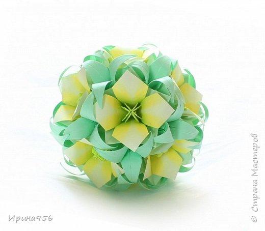 Основа - Little Turtle Tomoko Fuse 30 модулей 11х11 см. МК http://all-origami.livejournal.com/66074.html Цветы (автор Alexandra Abovyan), 12 шт., из 60 прямоугольных равнобедренных треугольников с гипотенузой 8,6 см. Видео https://www.youtube.com/watch?v=dkR-oEx5RZQ Размер - около 13 см. фото 18