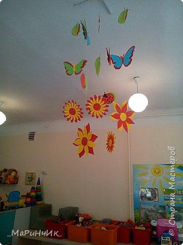 Осеннее оформление беседки в детском саду. фото 4