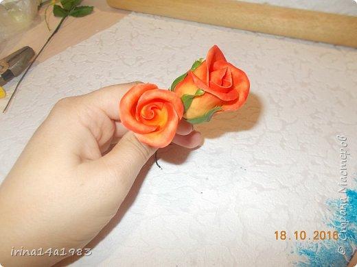 Добрый вечер, Страна! Я все не прекращаю найти свой  метод лепки розы. Приглашаю всех посмотреть на мои попытки. фото 7