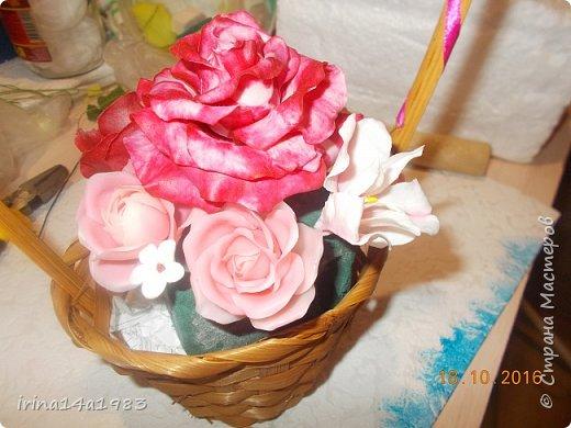 Добрый вечер, Страна! Я все не прекращаю найти свой  метод лепки розы. Приглашаю всех посмотреть на мои попытки. фото 11