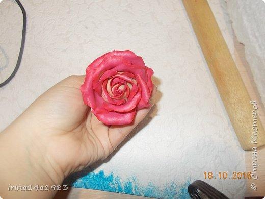 Добрый вечер, Страна! Я все не прекращаю найти свой  метод лепки розы. Приглашаю всех посмотреть на мои попытки. фото 3