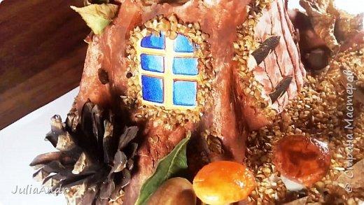 Осенняя поделка из природного материала своими руками 2016