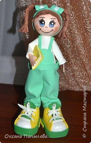 Куклы из фоамирана... фото 1