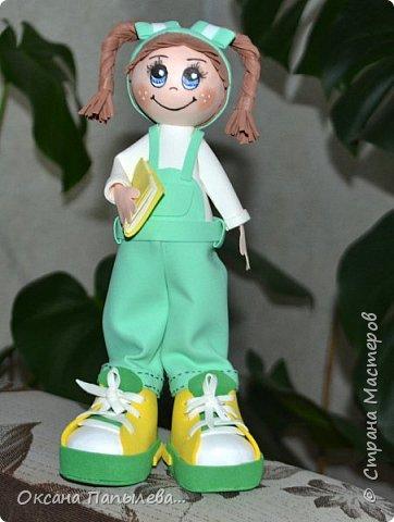 Куклы из фоамирана... фото 3