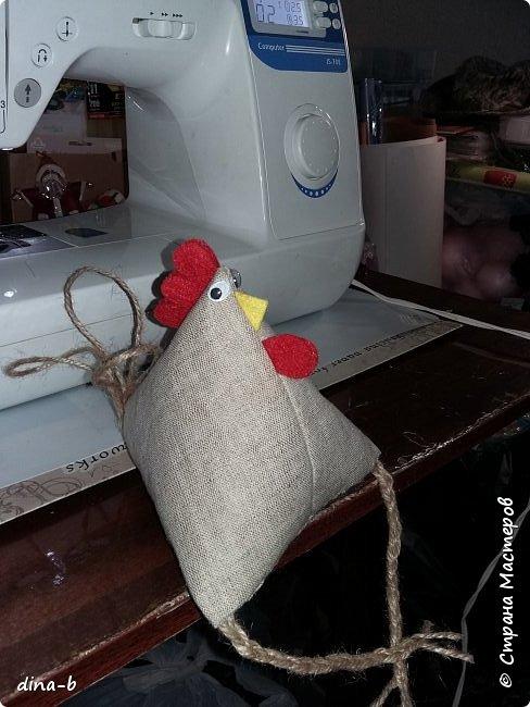 Начала шить петушков к Новому году, на сувенирчики! фото 2