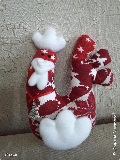 Начала шить петушков к Новому году, на сувенирчики! фото 1