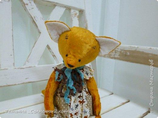 Тедди-лисёнок Яна фото 3
