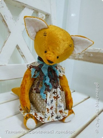 Тедди-лисёнок Яна фото 2