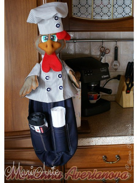 Здравствуй, Страна!!! Вдогонку за первым Петухом-поваром  пошился и второй помощник... фото 4
