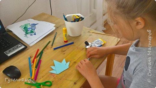Изучаем  Канаду. Делаем оригами.  фото 1