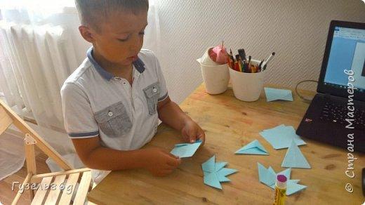 Изучаем  Канаду. Делаем оригами.  фото 4